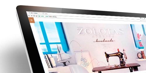 Website Design & Development for Atelier Zolotas | adeadpixel