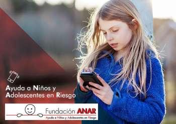 La Fundación ANAR lleva 48 años ayudando a los menores.