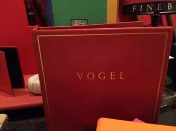 Vogel exemplifying his work