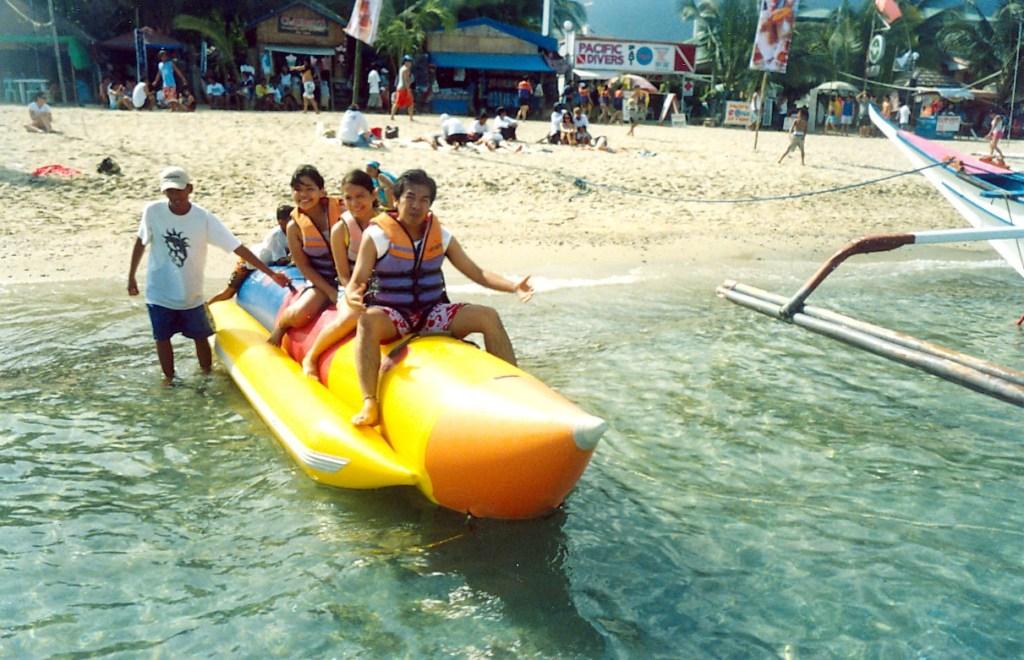 Puerto Galera banana boat