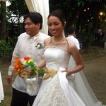 Wedding Bells for Kris and Ipe