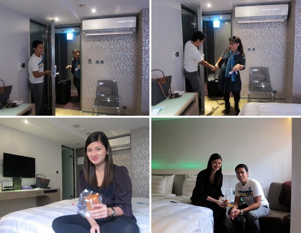 Taiwan Saual Keh hotel room