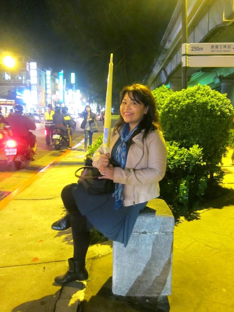 Taiwan yellow umbrella