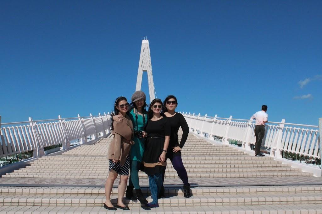 Taiwan lover's bridge