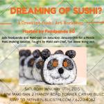 Creative Sushi Art Workshop by Maki-San and Foodpanda {Foodee}
