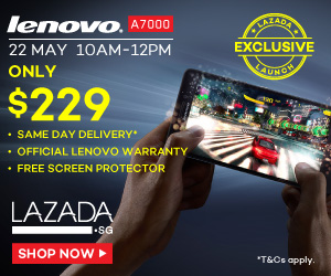 Lenovo A7000 LTE promo