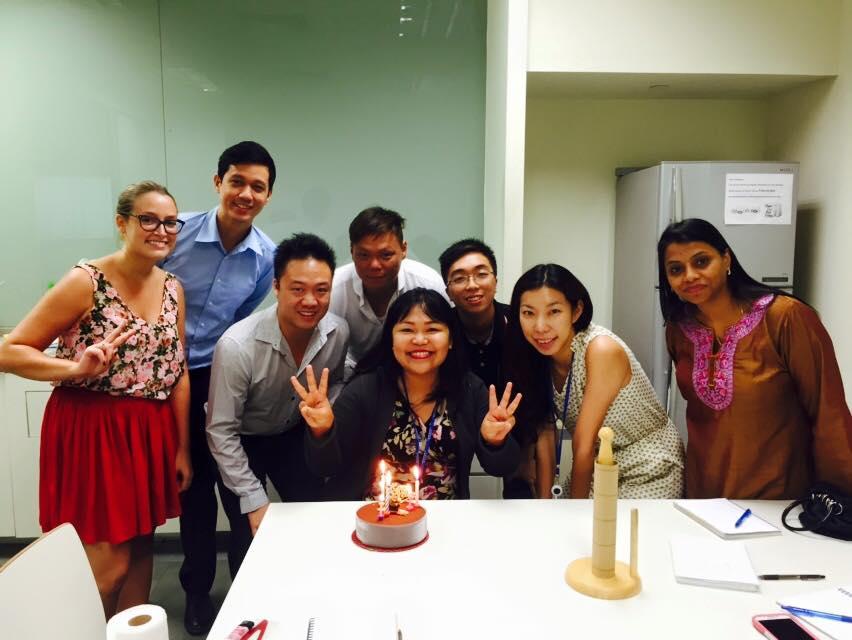 birthday team
