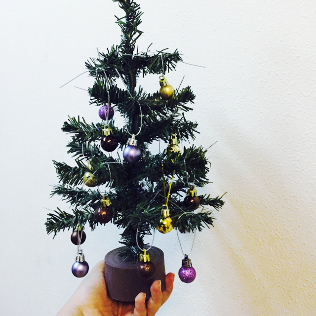 Daiso christmas tree