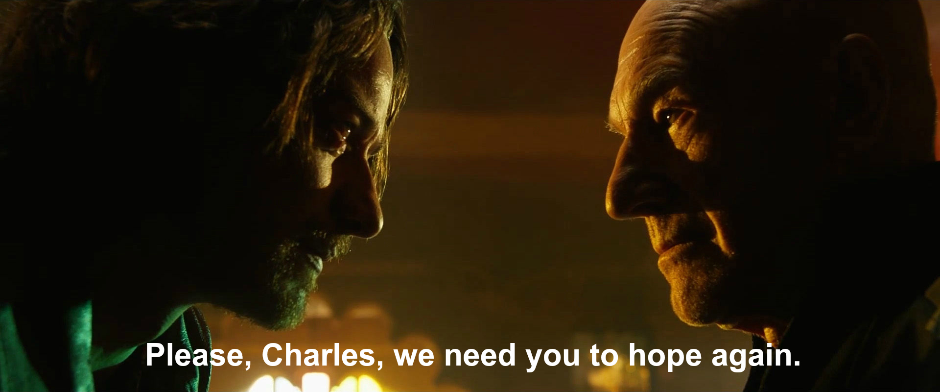 Charles Xavier we need you to hope again