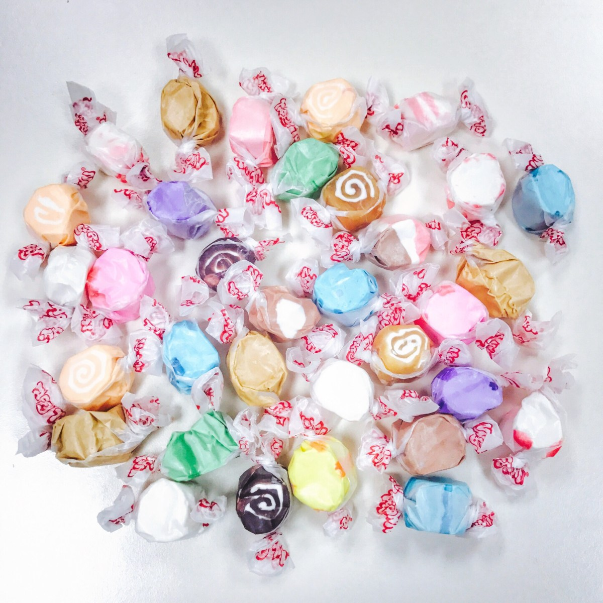 My First Salt Water Taffy and Pez