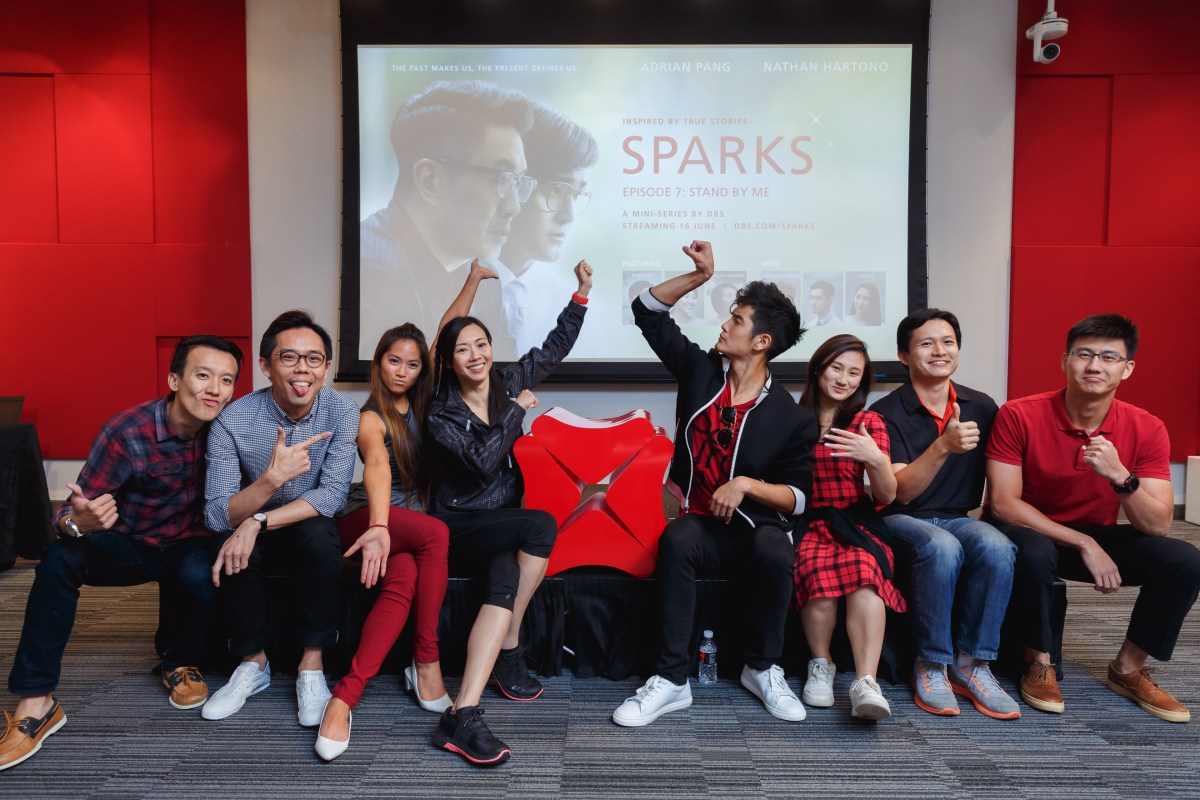 DBS Sparks Episode 7 Premiere with Nathan Hartono and Jaime Teo