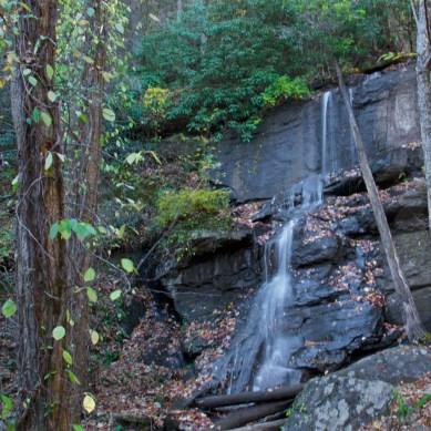 Lower Desoto Falls, Lumpkin County, GA © Adel Alamo 2014