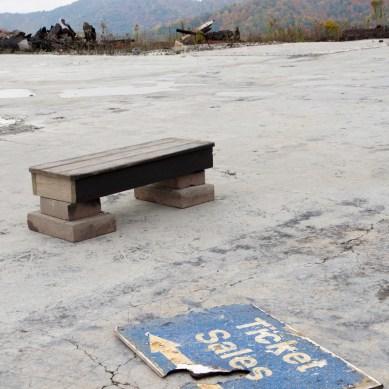 Remains of Main Lodge at Wolf Ridge Ski Resort, Mars Hill, NC © Adel Alamo 2015