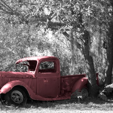 Old Pick Up Truck