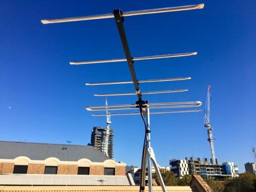 Digital antenna installation Adelaide CBD