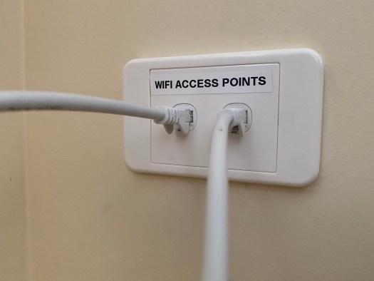 WiFi Access Point Wallplate