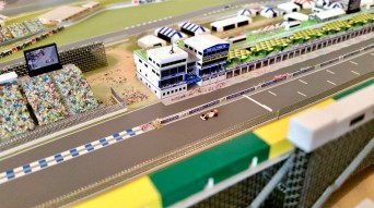 The Adelaide Grand Prix circuit model.