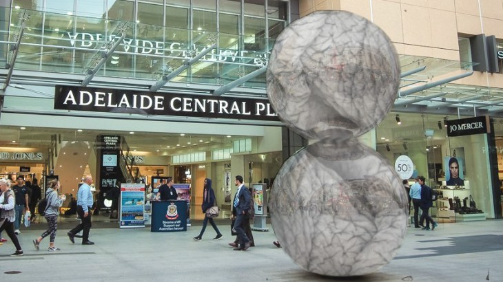 Mall's Balls sagging with age