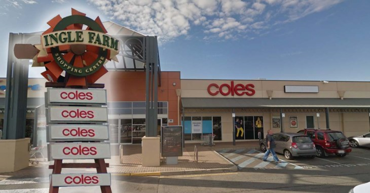 The world's highest concentration of Coles Supermarkets
