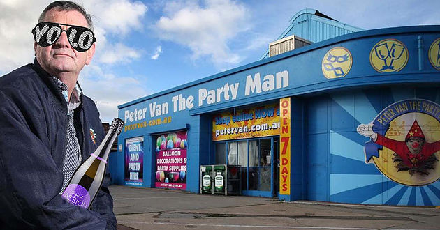 Peter Van The Party Man