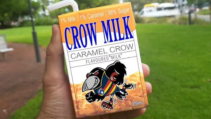 The 'popular' Crow Milk carton