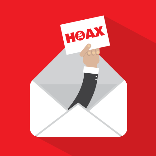 Hoax email