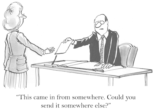 Email cartoon