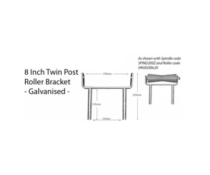 Boat Roller Bracket - Post