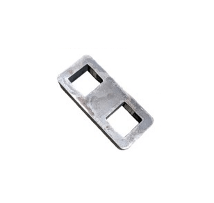 Drop Axle Plate - 45mm Square X 3 Inch Drop
