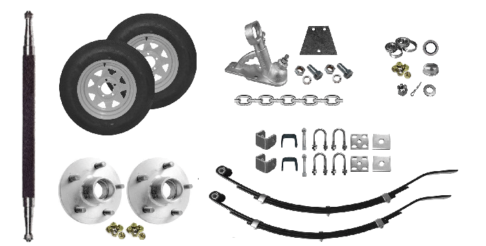 Trailer Coupling Kit - 3 Hole Coupling Kit