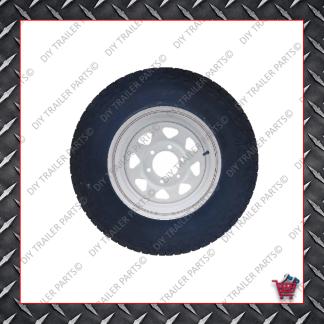 "16"" Landcruiser 6 Stud Trailer Rim & Tyre - 245R16A/T"