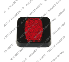 Led Trailer Light - 80 Series - Red