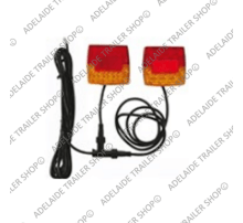 Led Trailer Light - 601 Series - Amber / Red / Red (Jumbo)