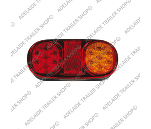 Led Trailer Light - 203 Series - Amber / Red / Number Plate Light (Submersible)