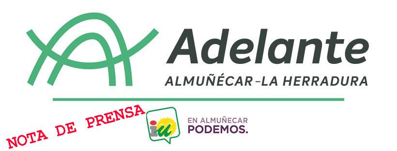 Izquierda Unida Podemos denuncia la nueva subida del recibo de agua