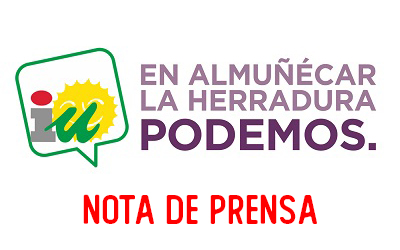 Izquierda Unida Podemos pide al gobierno municipal que solicite el arreglo de la carretera Almuñécar-Jete