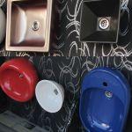 Lavoare colorate de la Bianca Ceramica