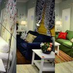 Trei variante de living IKEA