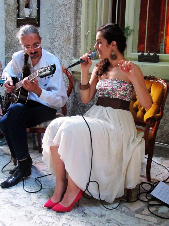 Irina Sarbu si Alex Man in concert live la aniversarea a doi ani de la deschiderea Infinitea