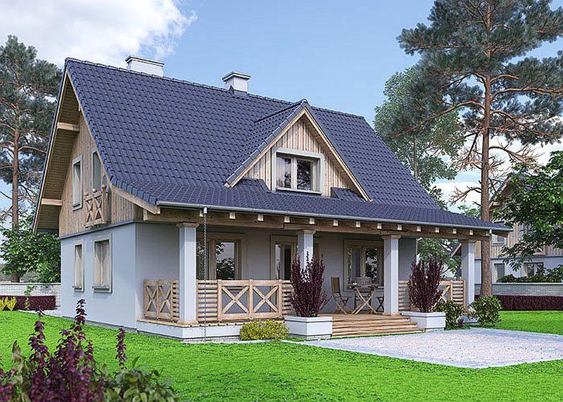 Proiecte de case mici, cu suprafețe între 50 și 125 metri pătrați