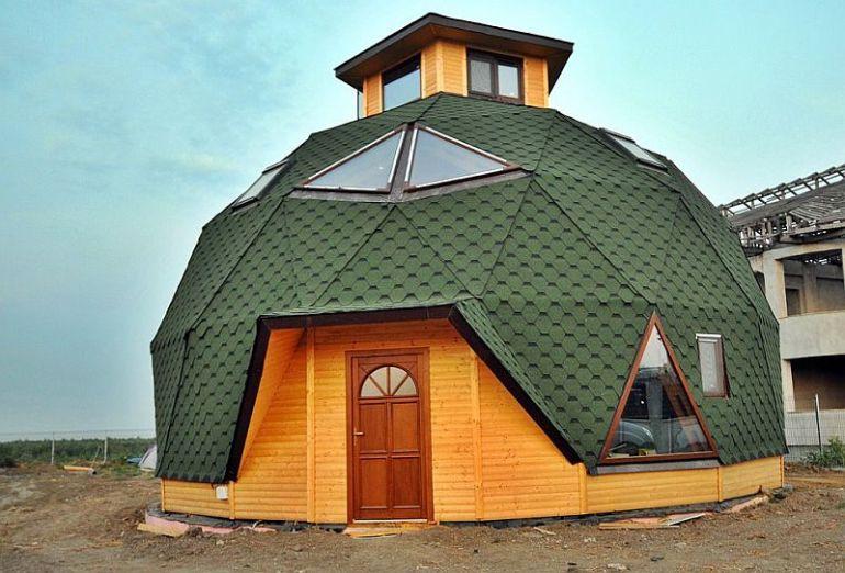 adelaparvu.com despre case tip domuri geodezice, casa dom geodezic, design ing. Alexandru Dinulescu (29)