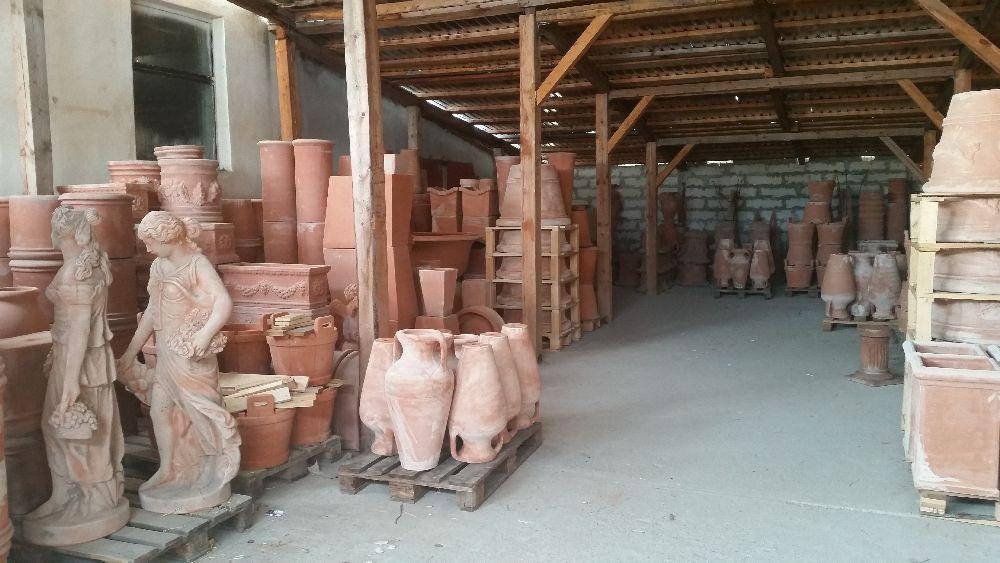 adelaparvu.com despre vase de gradina, ghivece si ornamente din teracota, lut, Terecote Sighisoara Romania (22)