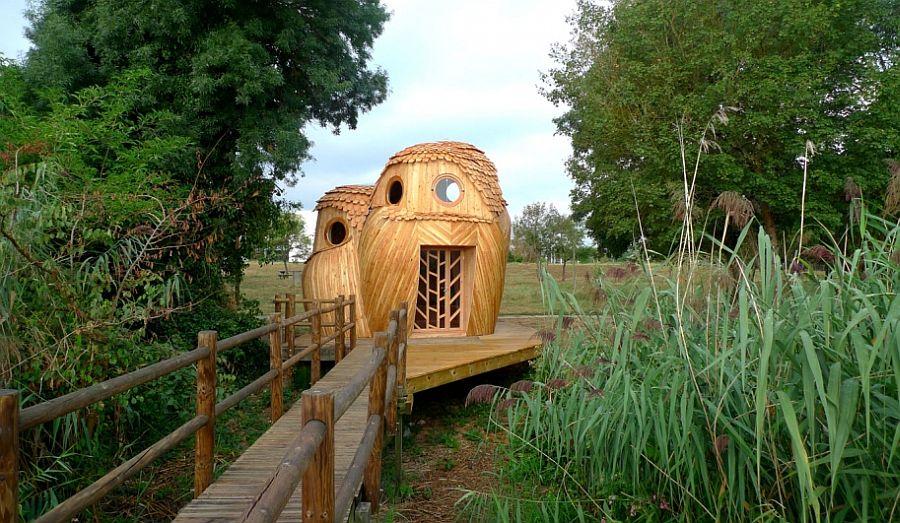 adelaparvu.com despre cabana in forma de bufnita, design Zebra3, Foto Bruitdufrigo Refuges Guetteurs (12)