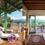 adelaparvu.com despre casa cu terase, casa cu tamplarie verde, casa Spania, Comillas, foto Elmueble (1)