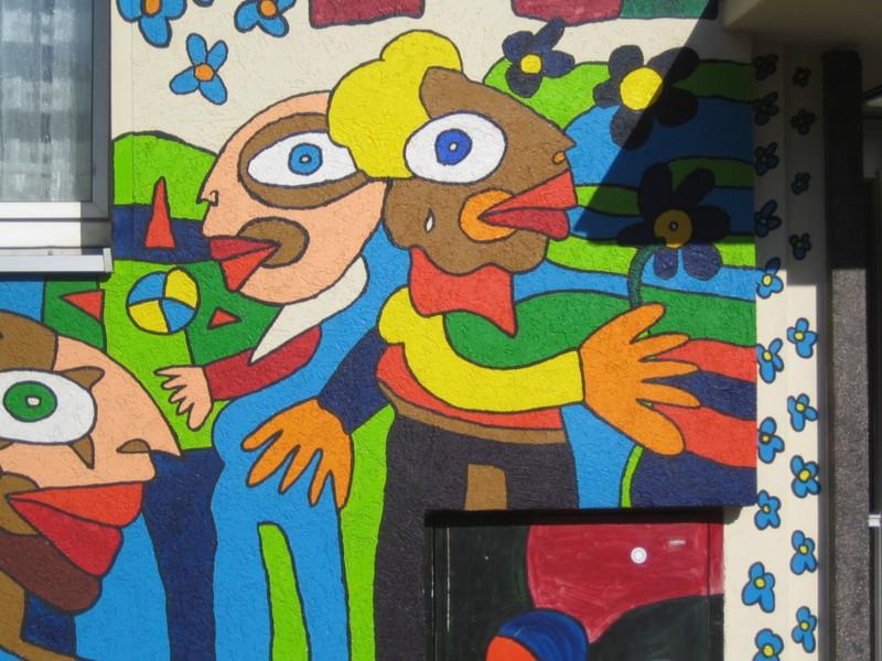 adelaparvu.com despre cladiri pictate, artist Michael Fischer Art (26)