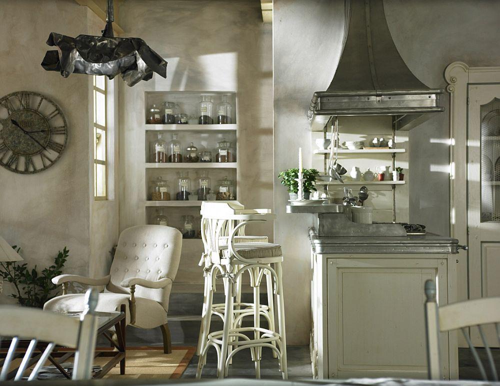 adelaparvu.com despre bucatarii rustice, bucatarii country style, model Dhialma, Marchi Cucine (2)