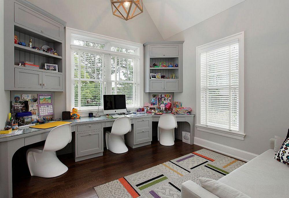 adelaparvu.com despre birouri pentru trei persoane, design Highgate Builders