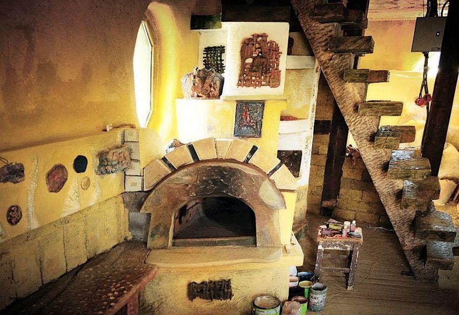 adelaparvu.com despre casa din baloti de paie Popasul Verde, Sangeorz Bai, Romania, proprietar Paul Axinte (7)