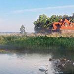adelaparvu.com despre casa rustica din lemn cu interior clasic, casa Polonia, pensiune Stanica Rzeczna (7)