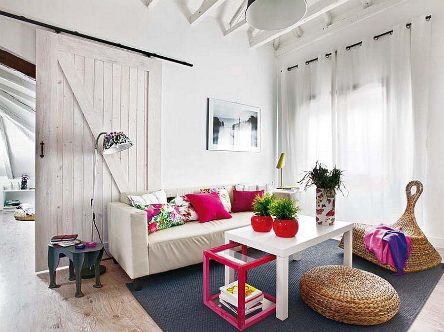 adelaparvu.com despre mansarda boema de 50 mp, design interior Susana Sendin  (1)
